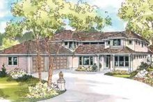 Home Plan - Traditional Exterior - Front Elevation Plan #124-518