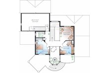 Victorian Floor Plan - Upper Floor Plan Plan #23-725