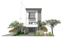 Contemporary Exterior - Front Elevation Plan #484-14