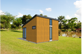 Modern Style House Plan - 1 Beds 1 Baths 264 Sq/Ft Plan #549-11 Photo
