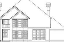 Traditional Exterior - Rear Elevation Plan #48-226