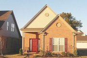 Traditional Style House Plan - 2 Beds 2 Baths 1397 Sq/Ft Plan #81-13660 Exterior - Front Elevation