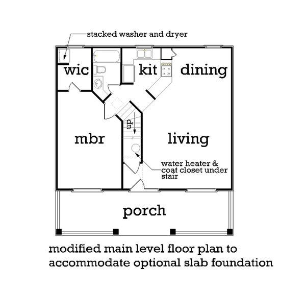 House Plan Design - Beach Floor Plan - Other Floor Plan #45-215
