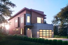 House Plan Design - Modern Exterior - Other Elevation Plan #1066-106