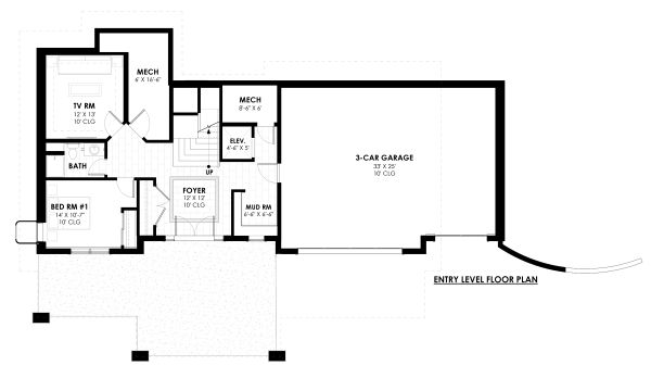 Dream House Plan - Entry Level