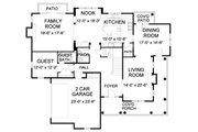 Farmhouse Style House Plan - 5 Beds 4.5 Baths 4427 Sq/Ft Plan #490-8 Floor Plan - Main Floor Plan