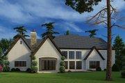 European Style House Plan - 5 Beds 5.5 Baths 5813 Sq/Ft Plan #923-185 Exterior - Rear Elevation