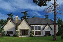House Plan Design - European Exterior - Rear Elevation Plan #923-185