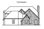 Traditional Style House Plan - 4 Beds 3.5 Baths 4898 Sq/Ft Plan #490-13 Exterior - Other Elevation