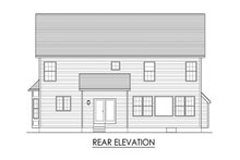 House Plan Design - Traditional Exterior - Rear Elevation Plan #1010-232