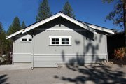 Craftsman Style House Plan - 2 Beds 2 Baths 999 Sq/Ft Plan #895-25 Exterior - Rear Elevation