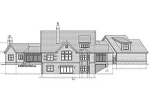 Craftsman Exterior - Rear Elevation Plan #928-213
