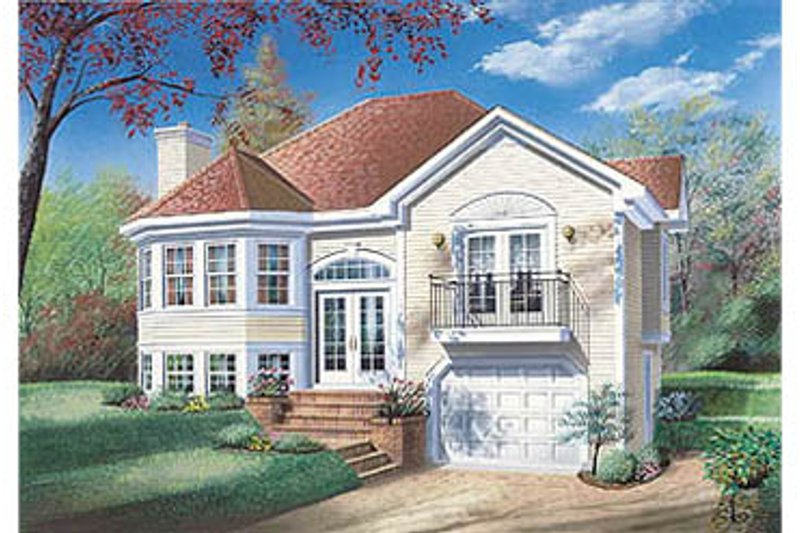 House Design - Traditional Exterior - Front Elevation Plan #23-149