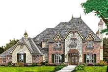 Home Plan - European Exterior - Front Elevation Plan #310-974