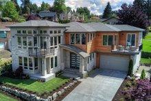 House Design - Modern Exterior - Front Elevation Plan #1066-2