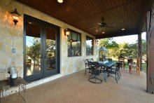 Home Plan - Ranch Exterior - Covered Porch Plan #140-149
