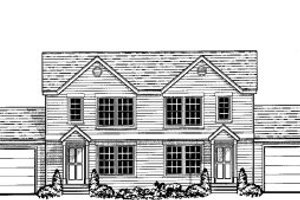 Traditional Exterior - Front Elevation Plan #303-385