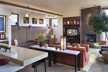 Great Room - 1900 square foot Modern Home