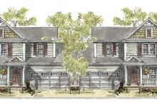 House Plan Design - Traditional Exterior - Front Elevation Plan #20-1264