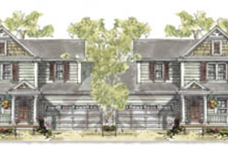 Traditional Exterior - Front Elevation Plan #20-1264 - Houseplans.com