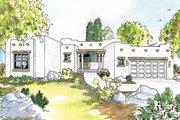 Adobe / Southwestern Style House Plan - 3 Beds 2 Baths 1760 Sq/Ft Plan #124-437