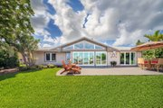 Ranch Style House Plan - 3 Beds 2 Baths 2100 Sq/Ft Plan #481-5 Exterior - Rear Elevation