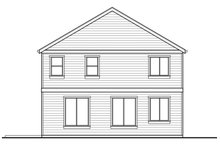 Country Exterior - Rear Elevation Plan #569-33