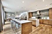 Modern Style House Plan - 4 Beds 4.5 Baths 4541 Sq/Ft Plan #449-13 Interior - Kitchen