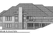 Traditional Exterior - Rear Elevation Plan #70-206