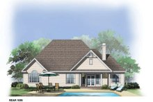 Home Plan - Country Exterior - Rear Elevation Plan #929-714