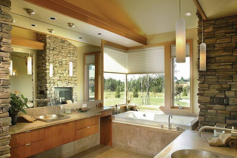 Ranch Interior - Master Bathroom Plan #48-433 - Houseplans.com