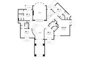 European Style House Plan - 5 Beds 6.5 Baths 6497 Sq/Ft Plan #48-360