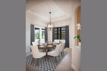 House Design - Mediterranean Interior - Dining Room Plan #938-90