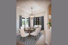 Dream House Plan - Mediterranean Interior - Dining Room Plan #938-90