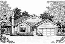 Traditional Exterior - Front Elevation Plan #72-325