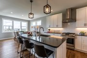 Contemporary Style House Plan - 4 Beds 2.5 Baths 2554 Sq/Ft Plan #1070-77