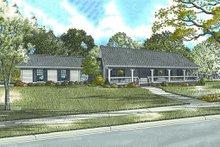 House Plan Design - Ranch Exterior - Front Elevation Plan #17-2142