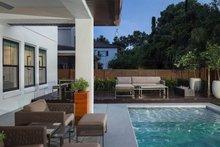 Dream House Plan - Contemporary Exterior - Outdoor Living Plan #1058-180