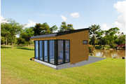Modern Style House Plan - 1 Beds 1 Baths 264 Sq/Ft Plan #549-11