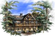Contemporary Style House Plan - 2 Beds 2 Baths 1270 Sq/Ft Plan #71-101