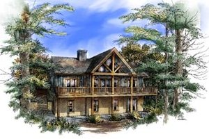 Contemporary Exterior - Front Elevation Plan #71-101