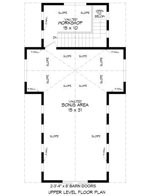 House Design - Country Floor Plan - Upper Floor Plan #932-355