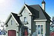 European Style House Plan - 3 Beds 2 Baths 1727 Sq/Ft Plan #23-360 Exterior - Other Elevation