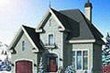 Dream House Plan - European Exterior - Other Elevation Plan #23-360