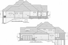 Architectural House Design - Craftsman Exterior - Other Elevation Plan #20-2337