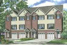 House Plan Design - Traditional Exterior - Front Elevation Plan #17-1173