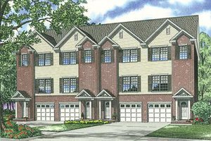 Traditional Exterior - Front Elevation Plan #17-1173