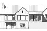 Farmhouse Style House Plan - 4 Beds 4.5 Baths 3946 Sq/Ft Plan #901-145 Exterior - Rear Elevation