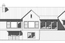 Farmhouse Exterior - Rear Elevation Plan #901-145