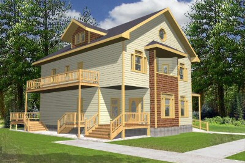 Traditional Exterior - Front Elevation Plan #117-130